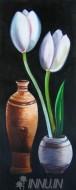 Fine art  - White Tulip