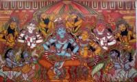 Fine art  - Sri Rama Pattabhishekam