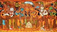 Fine art  - Sita Swayamvaram Mural 2