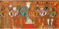 Fine art  - Sita Swayamvaram Mural 3