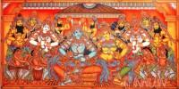 Fine art  - Rama Sita Pattabhishekam