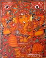 Fine art  - Ganesh Mural 2
