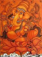 Fine art  - Ganesh Mural 3