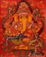 Fine art  - Vinayaka Mural 1