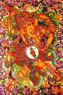 Fine art  - Dancing Ganesha