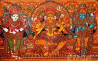 Fine art  - Goddess Durga Mural