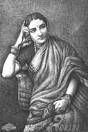 Fine art  - Indian Ladyby Artist