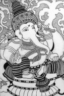 Fine art  - Lord Vinayaka by Artist