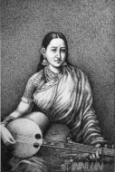 Fine art  - Lady With Swarbat