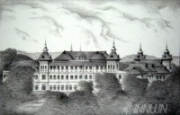 Fine art  - Kowdiar Palace by Artist