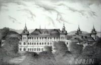 Fine art  - Kowdiar Palaceby Artist