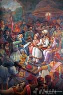 Fine art  - Shivaji Maharaj Rajyabhishekby Artist