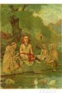 Fine art  - Srimadguru Adi Shankaracharya by ArtistRaja Ravi Varma