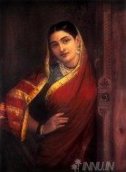 Fine art  - Maharashtrian Lady  by ArtistRaja Ravi Varma