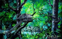 Fine art  - Tree House