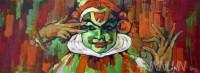 Fine art  - Kathakali Mudra 1   by Artist