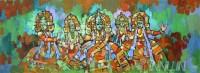 Fine art  - Kathakali Group
