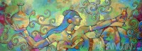 Fine art  - Dancing Lady