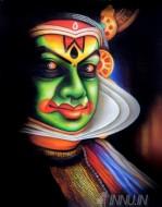 Fine art  - Kathakali Face 5
