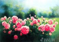 Fine art  - Rose Garden 2