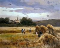 Fine art  - Harvesting