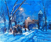 Fine art  - Winter by Artist