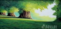 Fine art  - Greenery 1