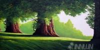 Fine art  - Greenery 2