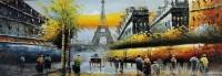 Fine art  - Eiffel Tower by Artist