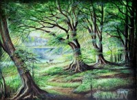 Fine art  - Forestry