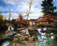 Fine art  - Behind the Home
