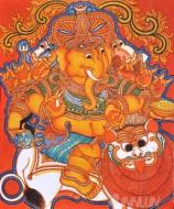 Fine art  - Vinayaka Mural 2