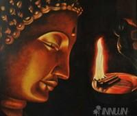Fine art  - Buddha by ArtistSuresh Dev