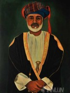 Fine art  - King by Artist Suresh Dev