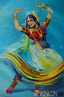 Fine art  - Kathak by Artist