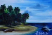 Fine art  - Tropical Island  by Artist