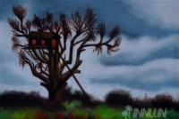 Fine art  - Tree House by Artist