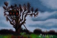 Fine art  - Tree House by Artist