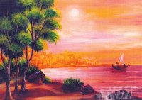 Fine art  - Sunset by Artist