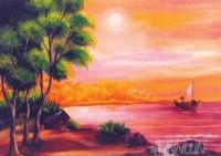 Fine art  - Sunset by Artist