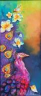 Fine art  - Peacock by ArtistBinu Perukavu