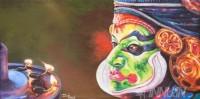 Fine art  - Kathakali by ArtistBinu Perukavu