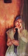 Fine art  - Orissa Girlby ArtistBinu Perukavu
