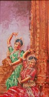 Fine art  - Dance  by Artist Binu Perukavu