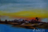 Fine art  - Evening Sun  by Artist