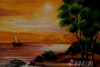 Fine art  - Sunset 1 by Artist