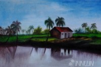 Fine art  - Riverside  by Artist