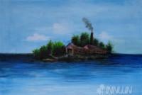 Fine art  - Islandby Artist