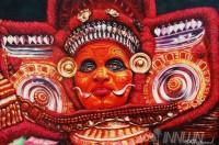Fine art  - Theyyam by ArtistBinu Perukavu