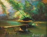 Fine art  - Landscape by ArtistBinu Perukavu
